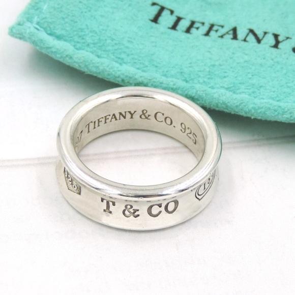 dfafc1b33 Tiffany & Co. Jewelry | Tiffany Co Sterling Silver 1837 Ring | Poshmark
